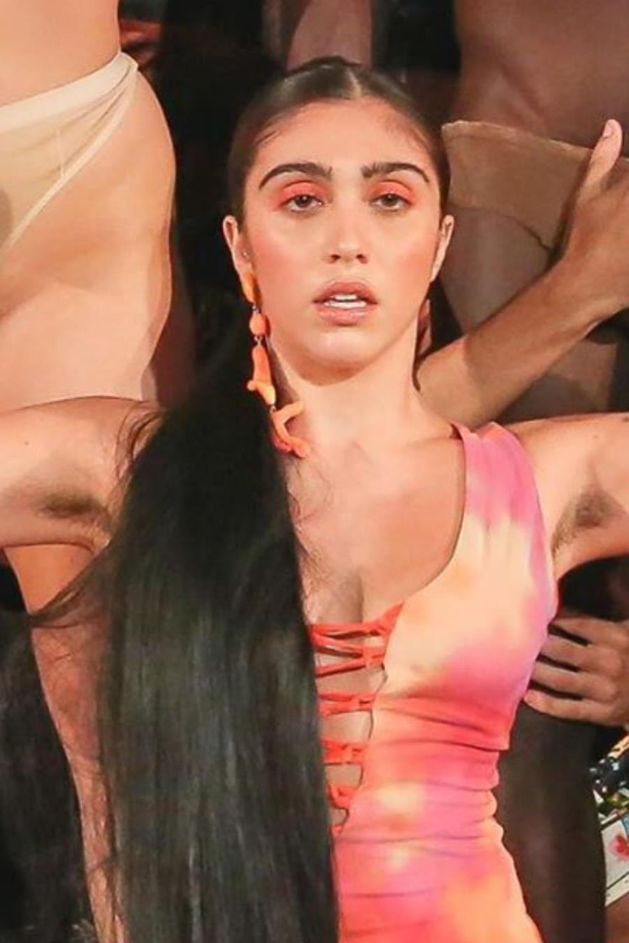 Lourdes Leon, hija de Madonna en el evento Art Basel de Miami