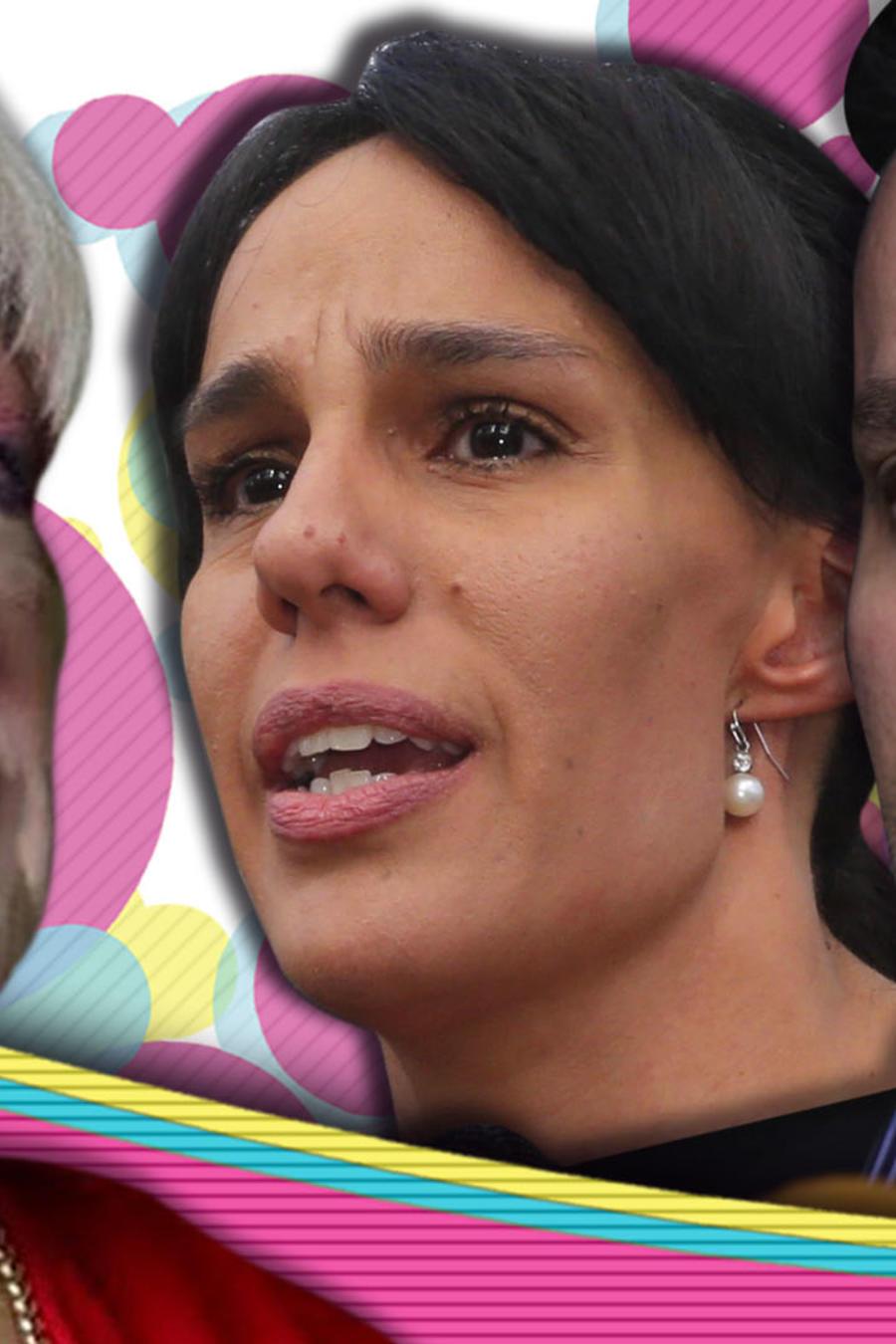 Anel Noreña y sus hiijos llamadas Sarita