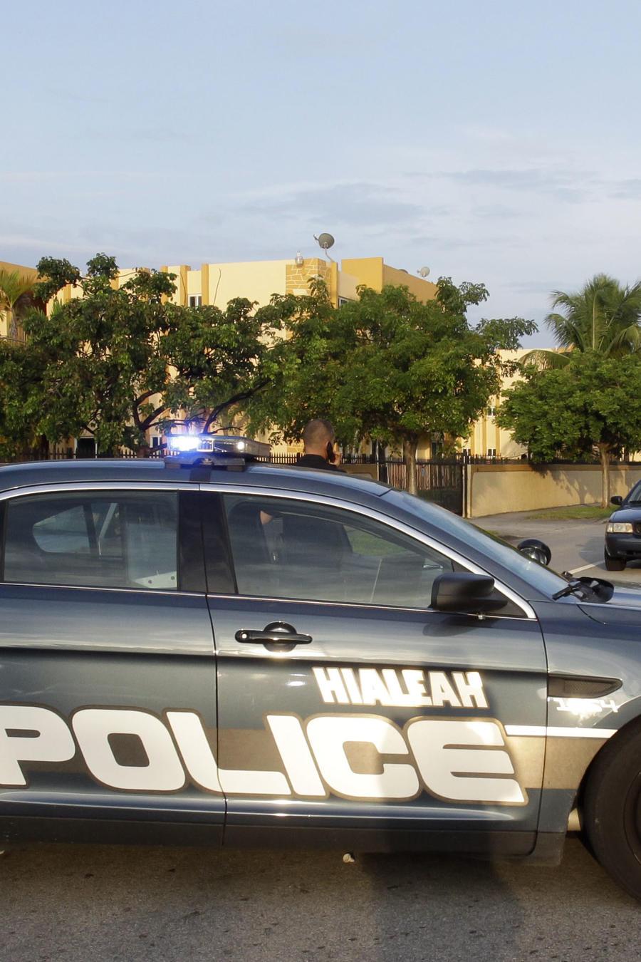 Fotografía de archivo de un vehículo del equipo SWAT de la policía de Hialeah