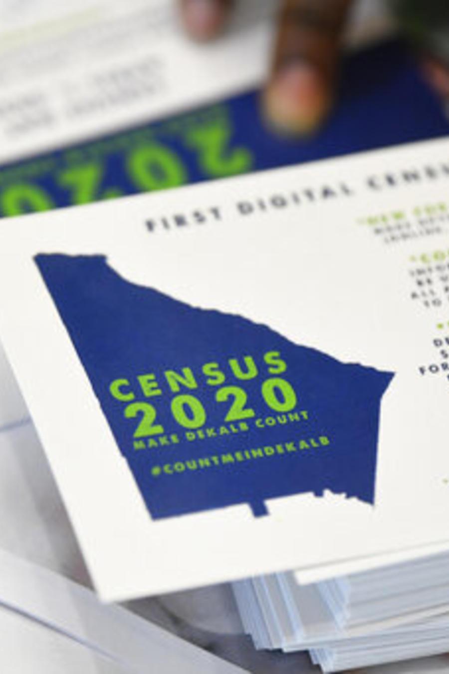 Tarjeta para promover el Censo 2020
