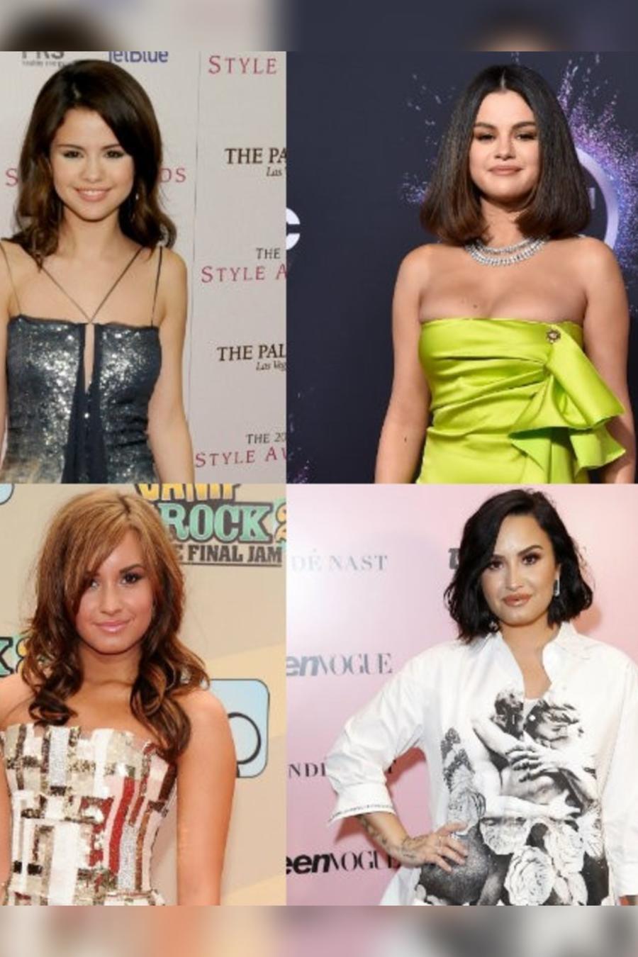Selena Gomez, Romeo Santos, Demi Lovato y Justin Bieber
