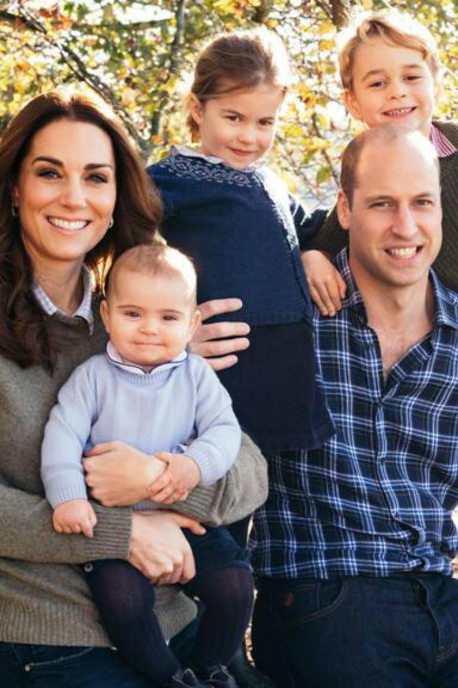 Postal navideña 2018 de lo Duques de Cambridge