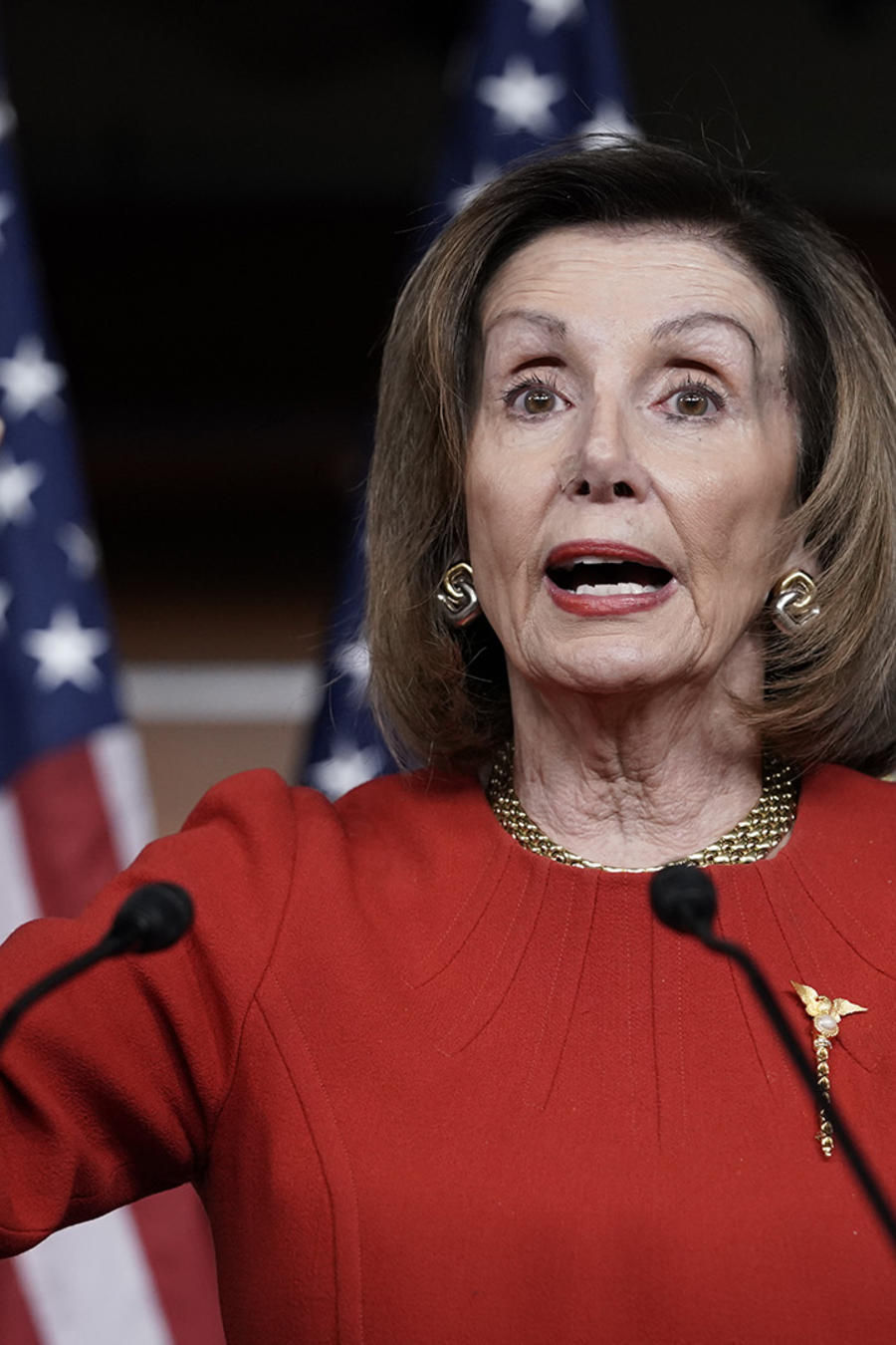 La líder de la Cámara de Representantes, Nancy Pelosi.