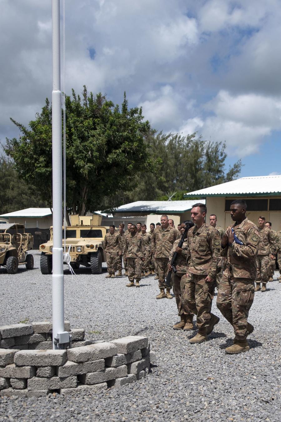 Base militar estadounidense en Kenia.