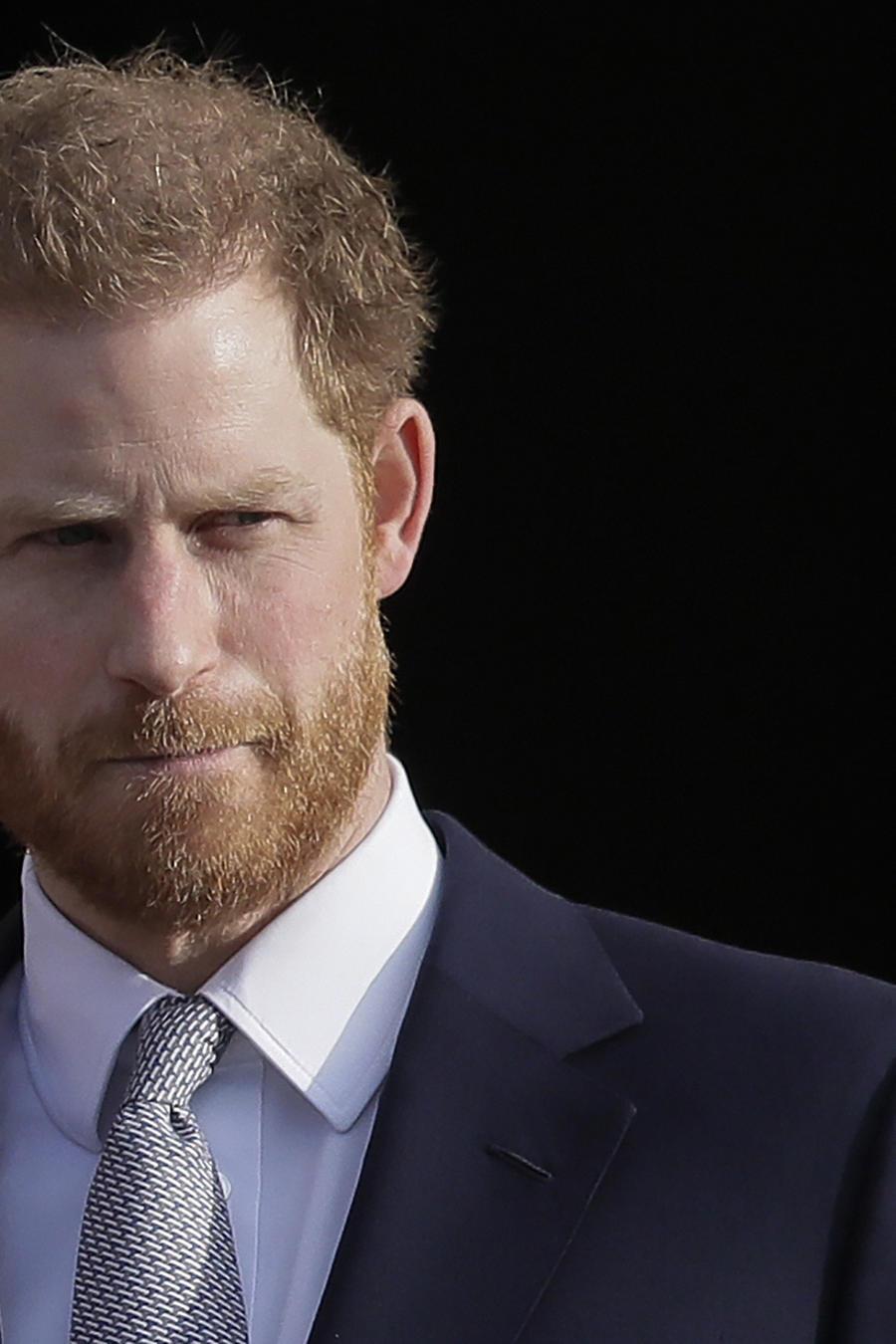 Príncipe Harry.