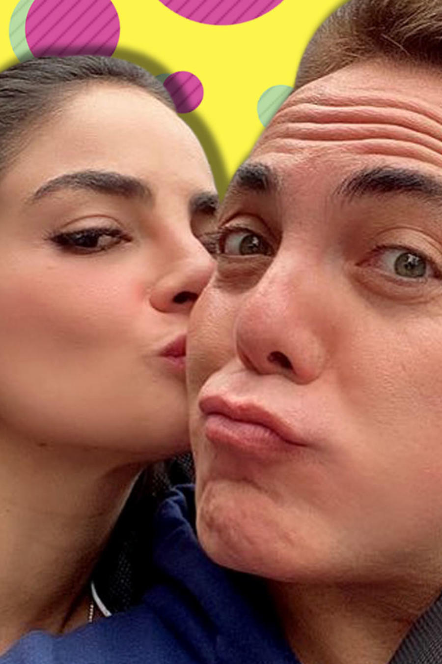 Cristian Castro amante novia