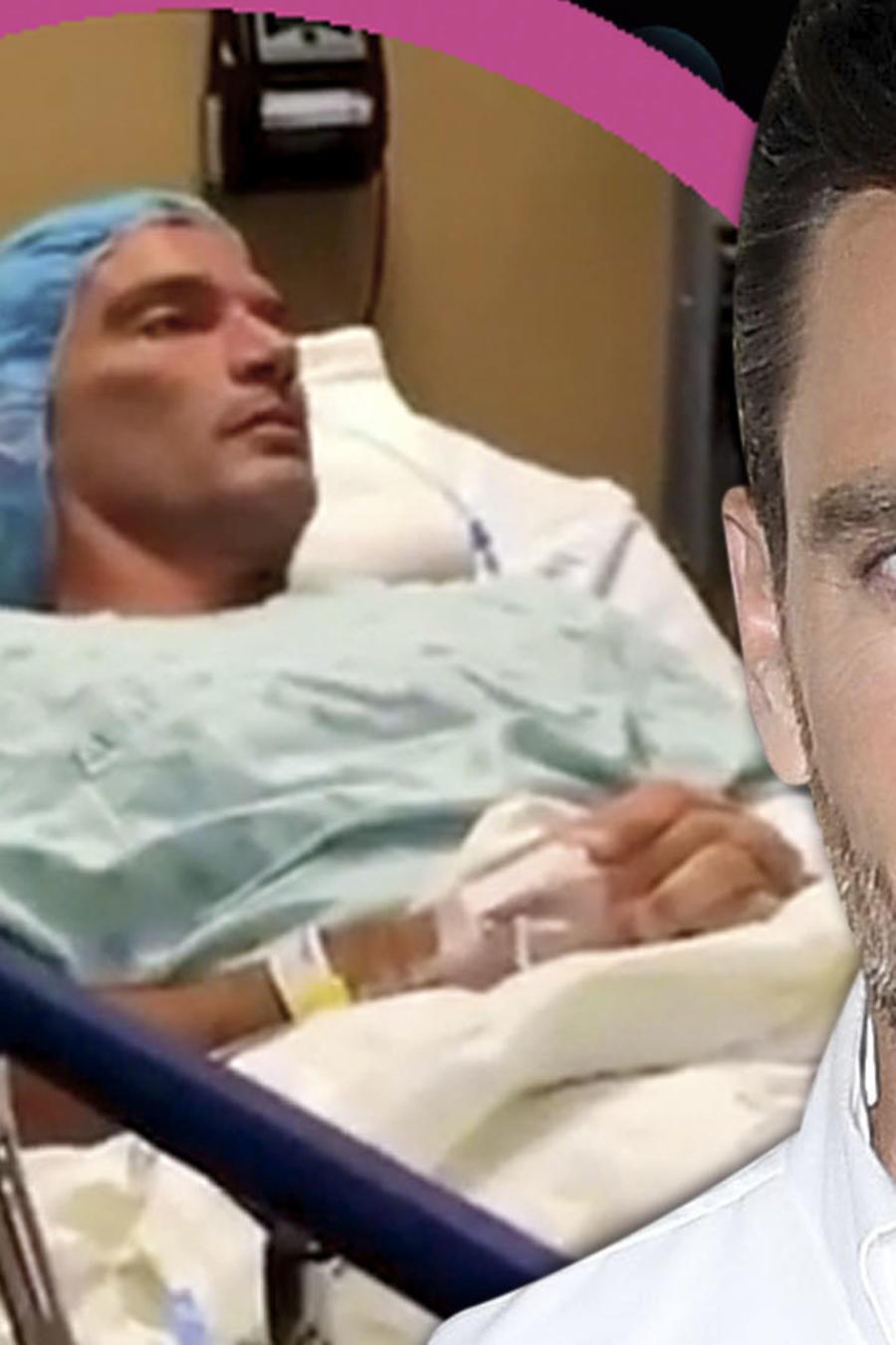 Julián Gil operado de emergencia