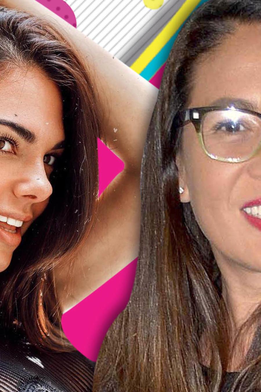 Yolanda Andrade coquetea con Livia Brito