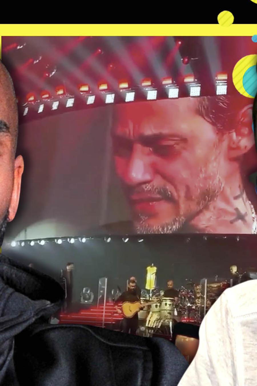 Marc Anthony llora por Kobe Bryant