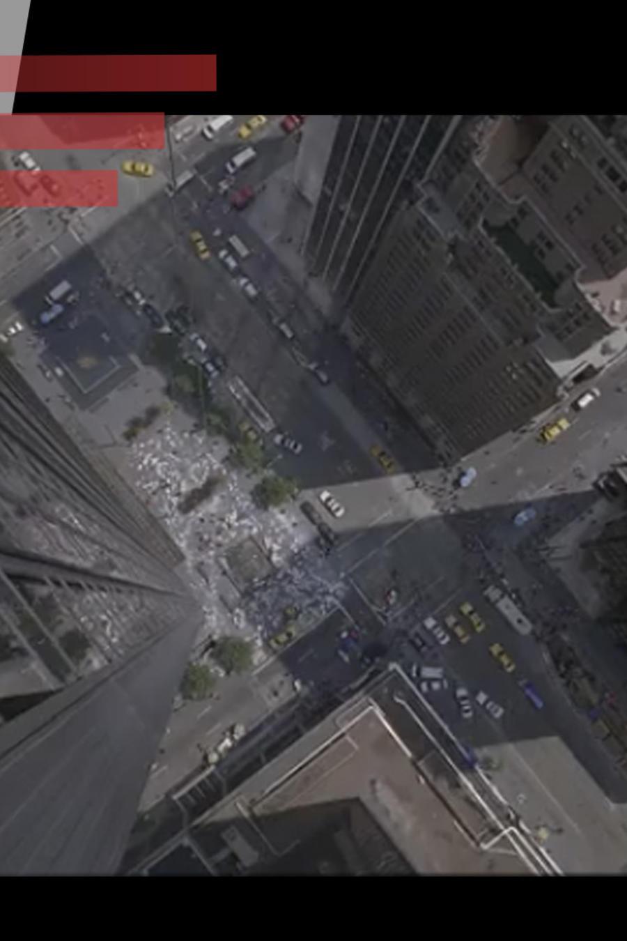 Mujer cayó del piso 9