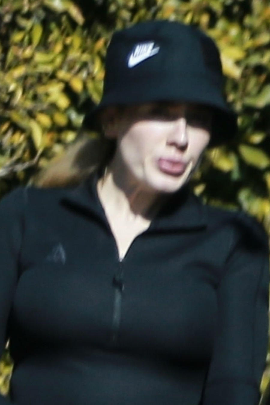 Adele con outfit deportivo