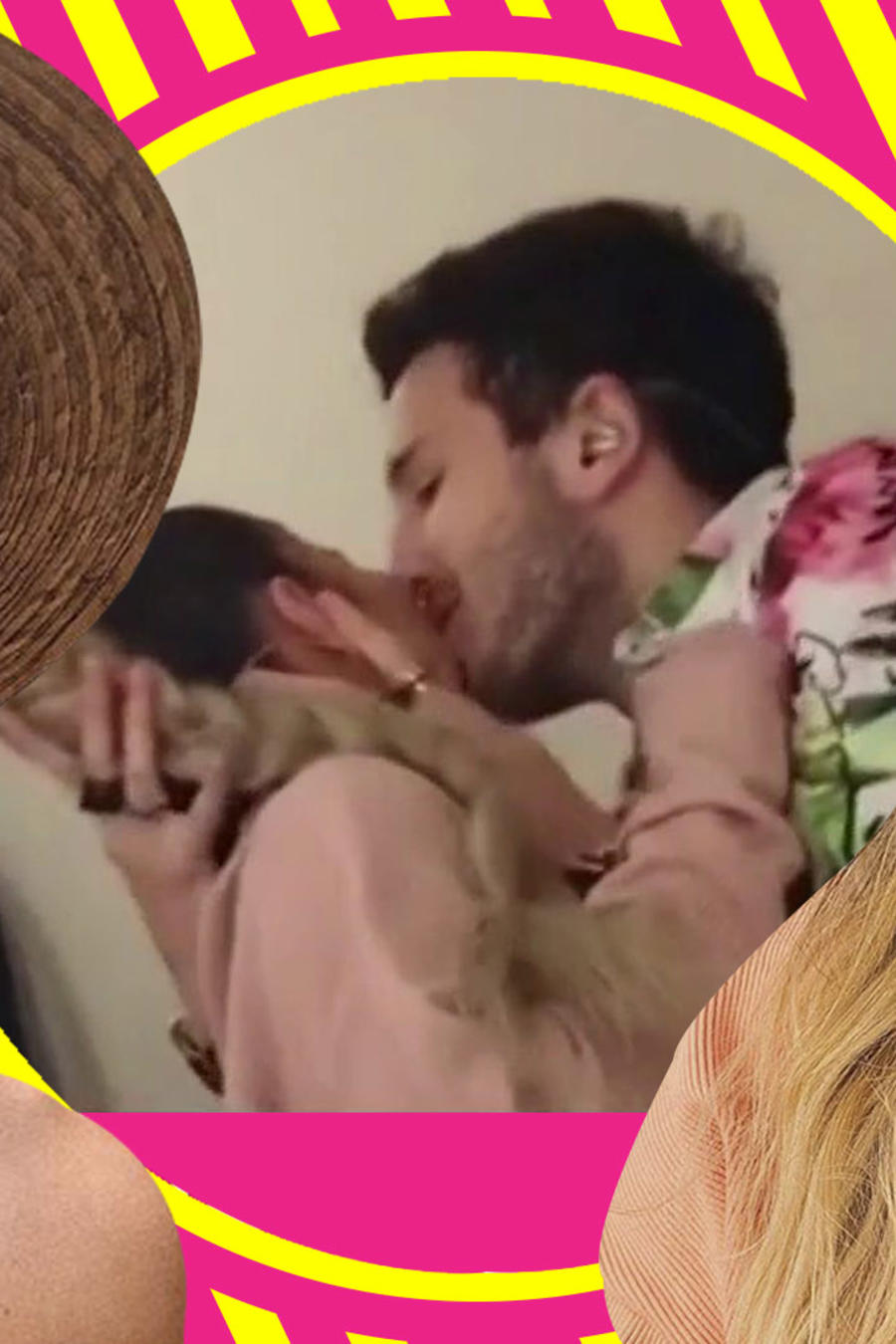 Sebastián Yatra beso a Karol G