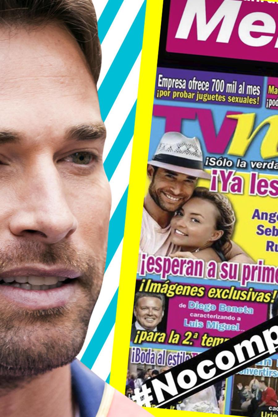 Sebastián Rulli explota contra TVNotas por supuesto embarazo