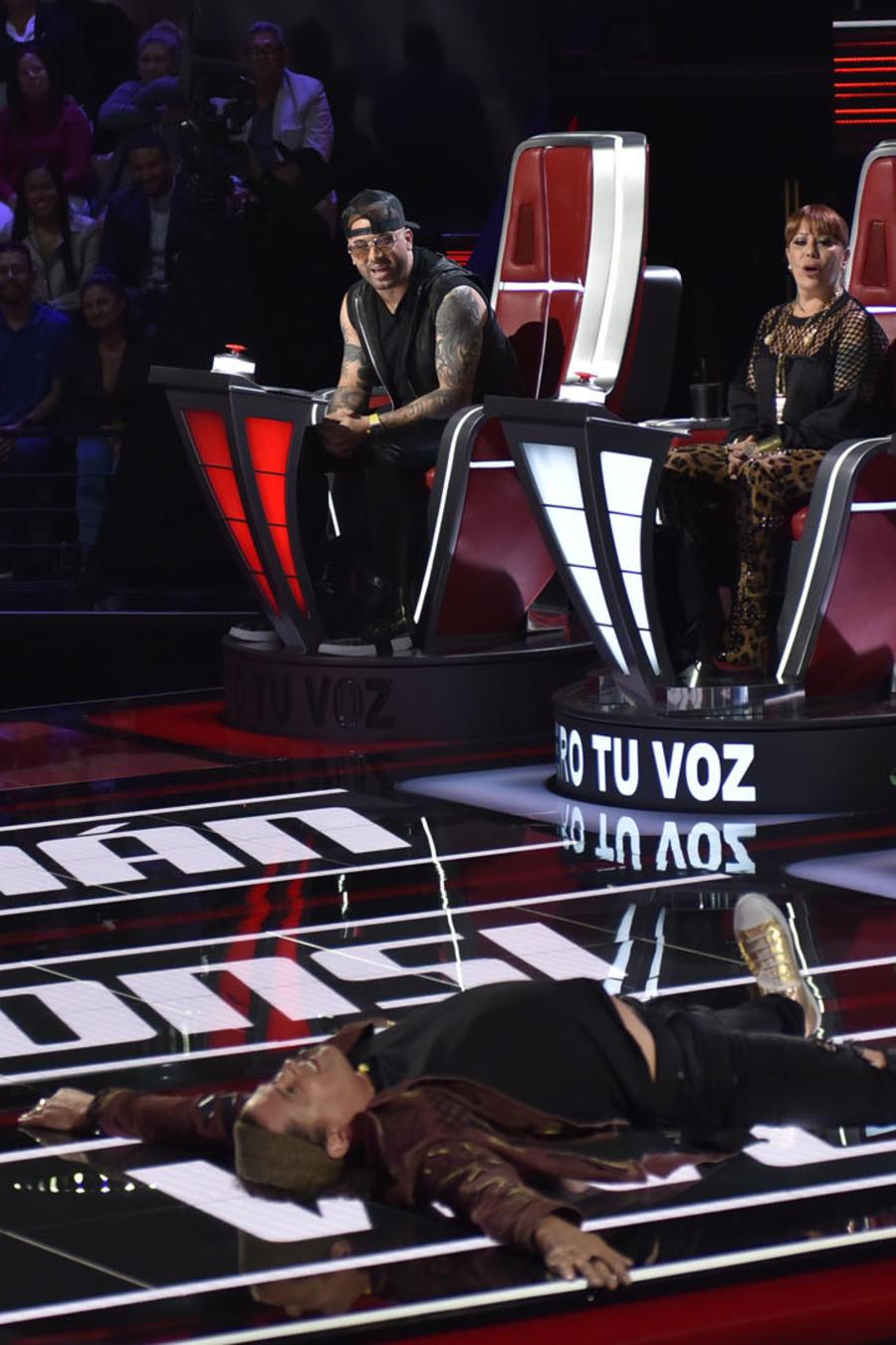 Coaches se divierten durante las audiciones a ciegas de La Voz US 2
