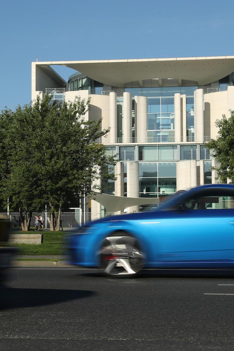 Imagen de archivo de automóviles en Berlín (Alemania).