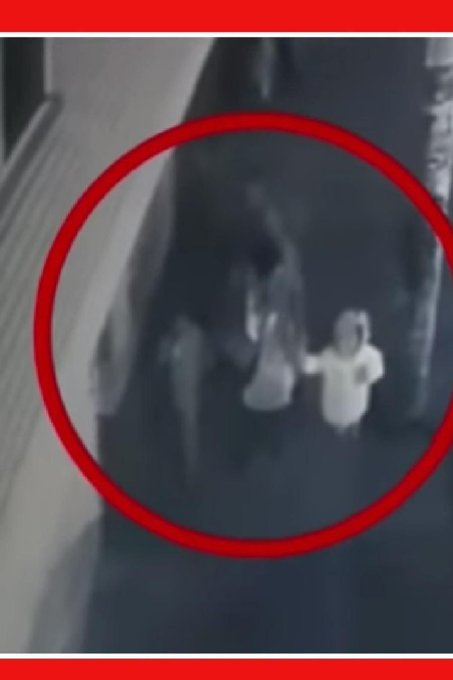 Mujer pelea hombre hija secuestro Colombia
