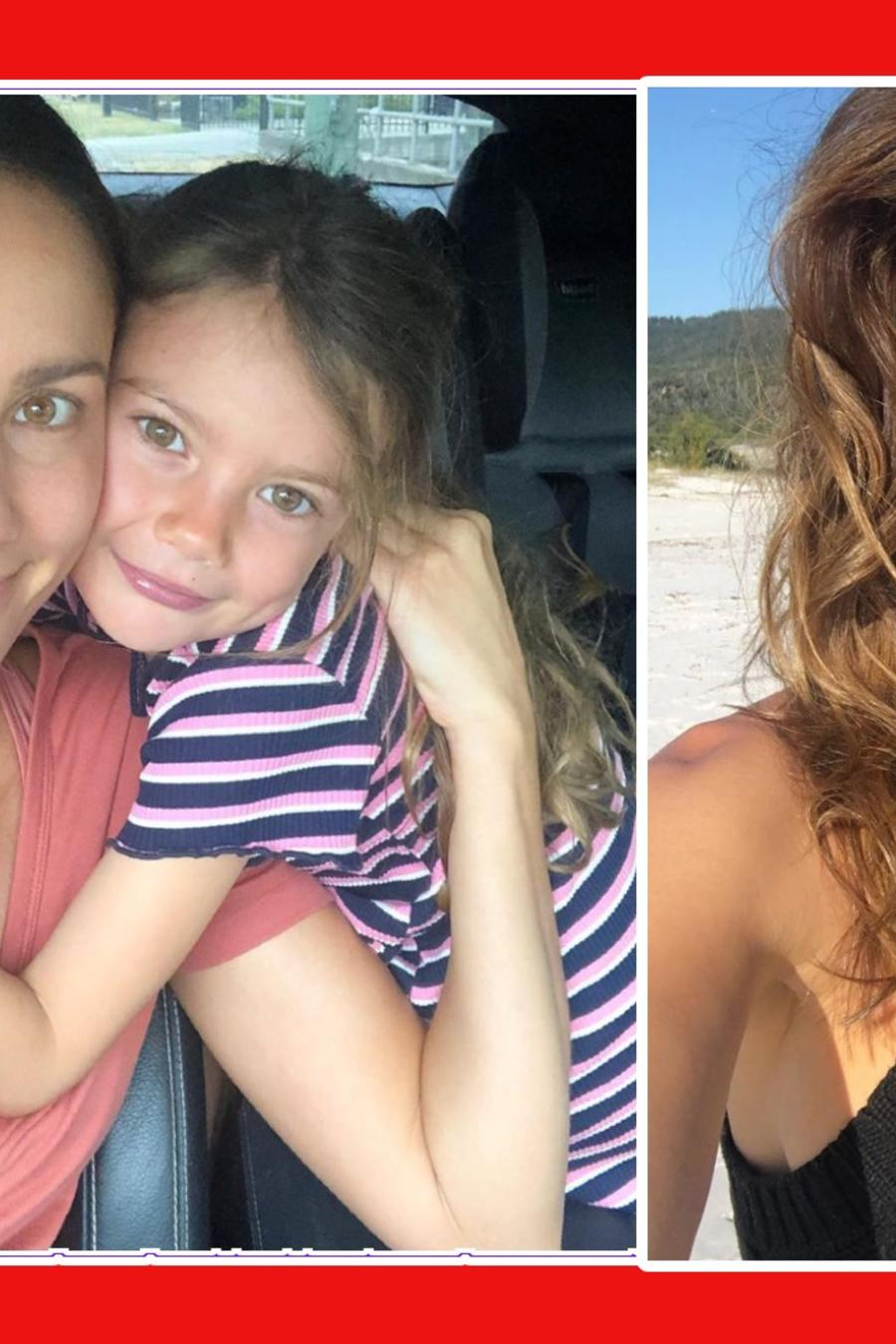 modelo Rachael Finch dieta hija