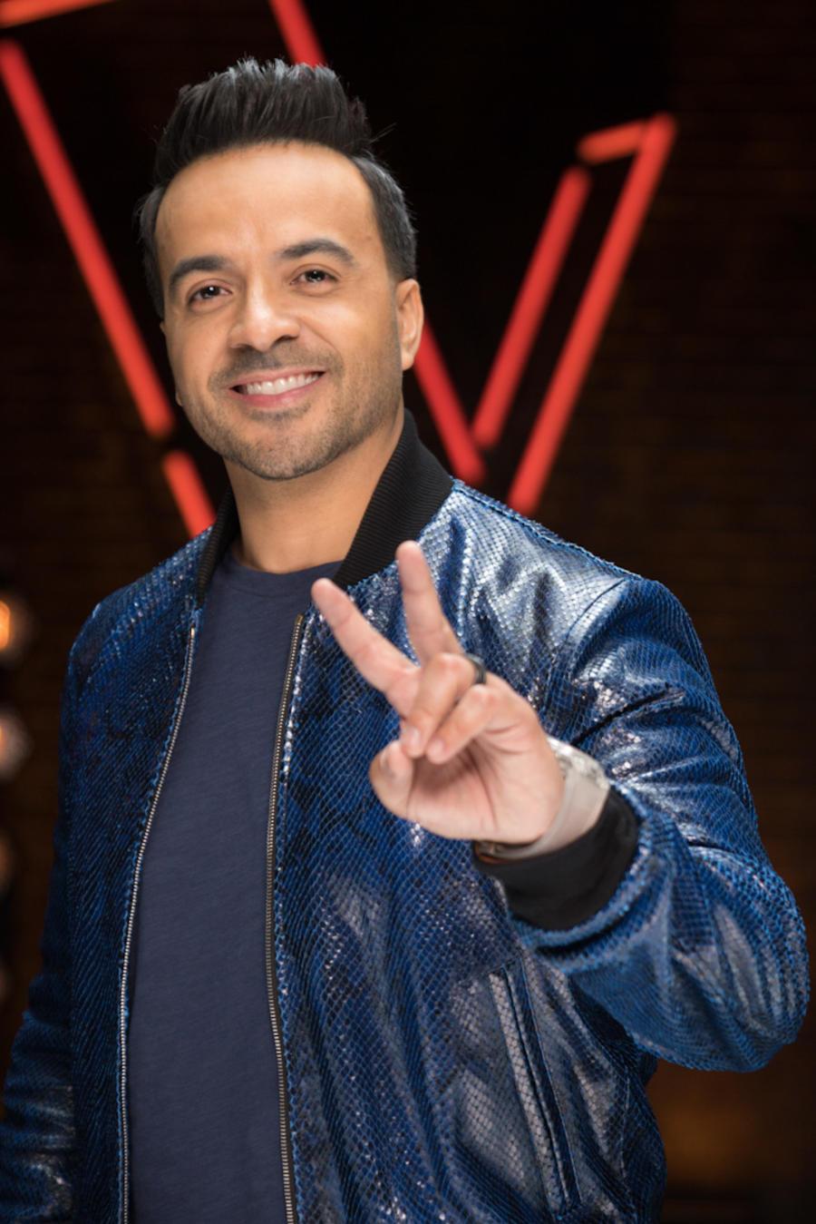 Luis Fonsi, coach de La Voz Us 2