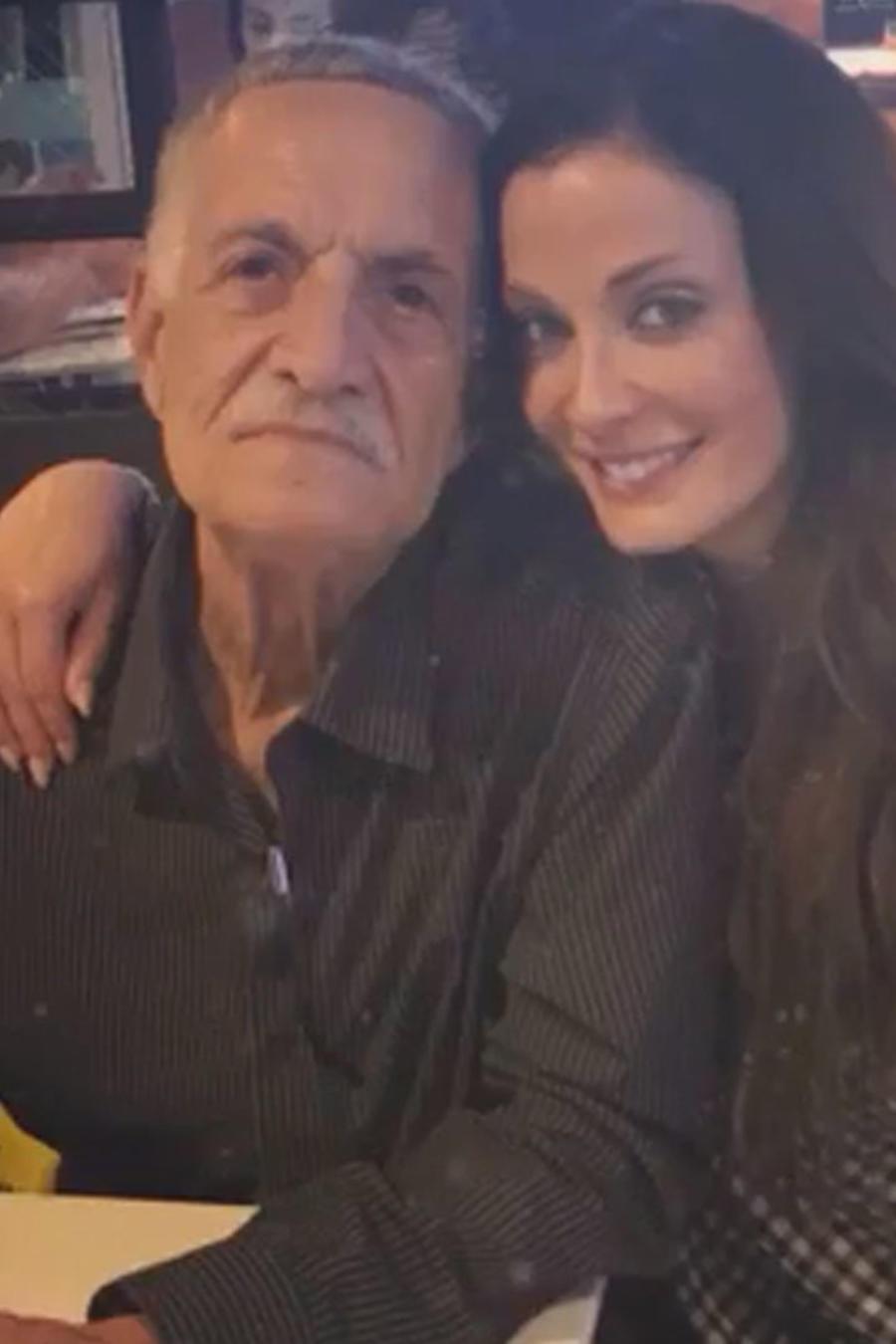 Dayanara Torres con su papá