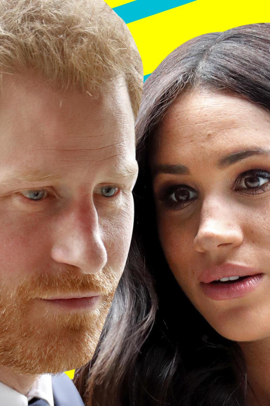 Meghan Markle y el príncipe Harry seguridad personal