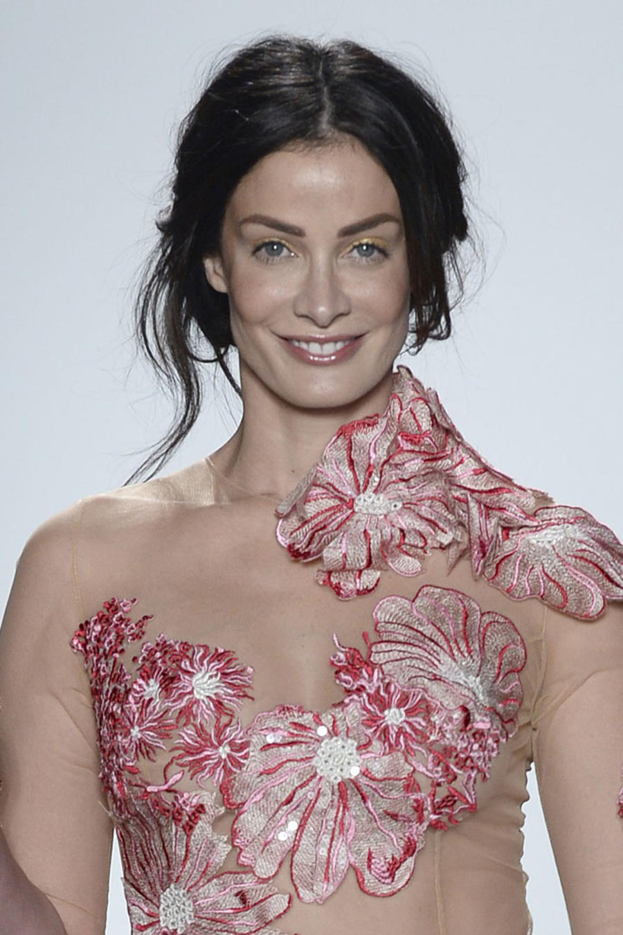 Dayanara Torres en el Fashion Week de Nueva York 2018