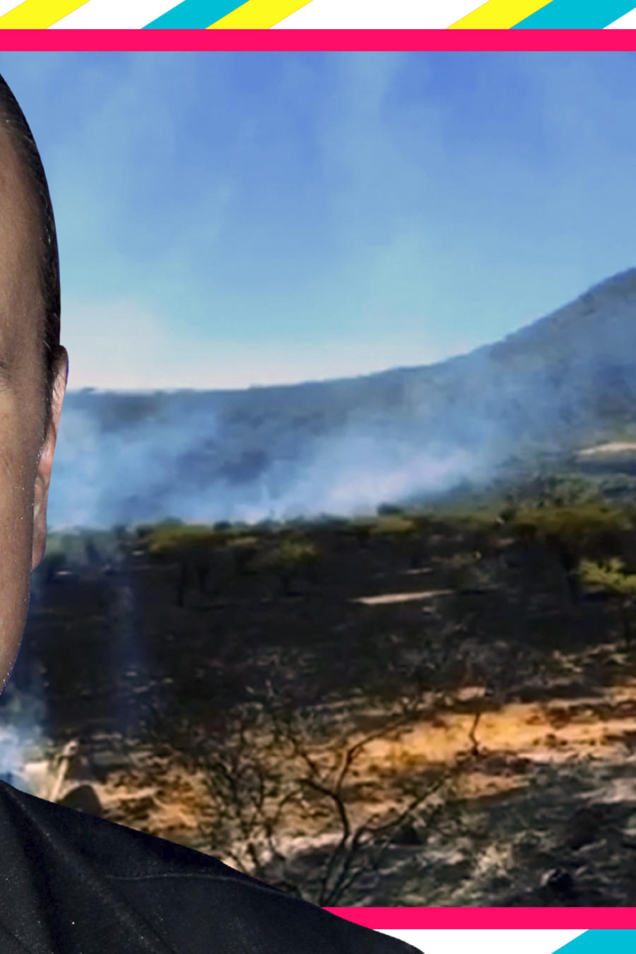 Pepe Aguilar incendio fotos videos