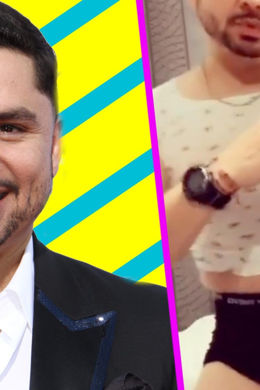Larry Hernández reto ropa hija