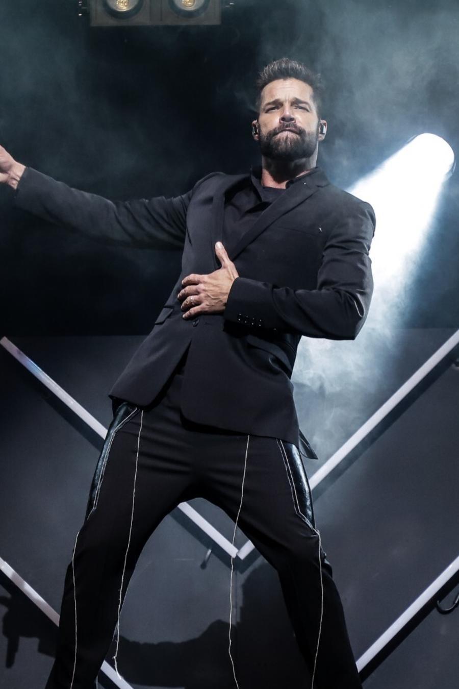 Ricky Martin participa en evento benéfico