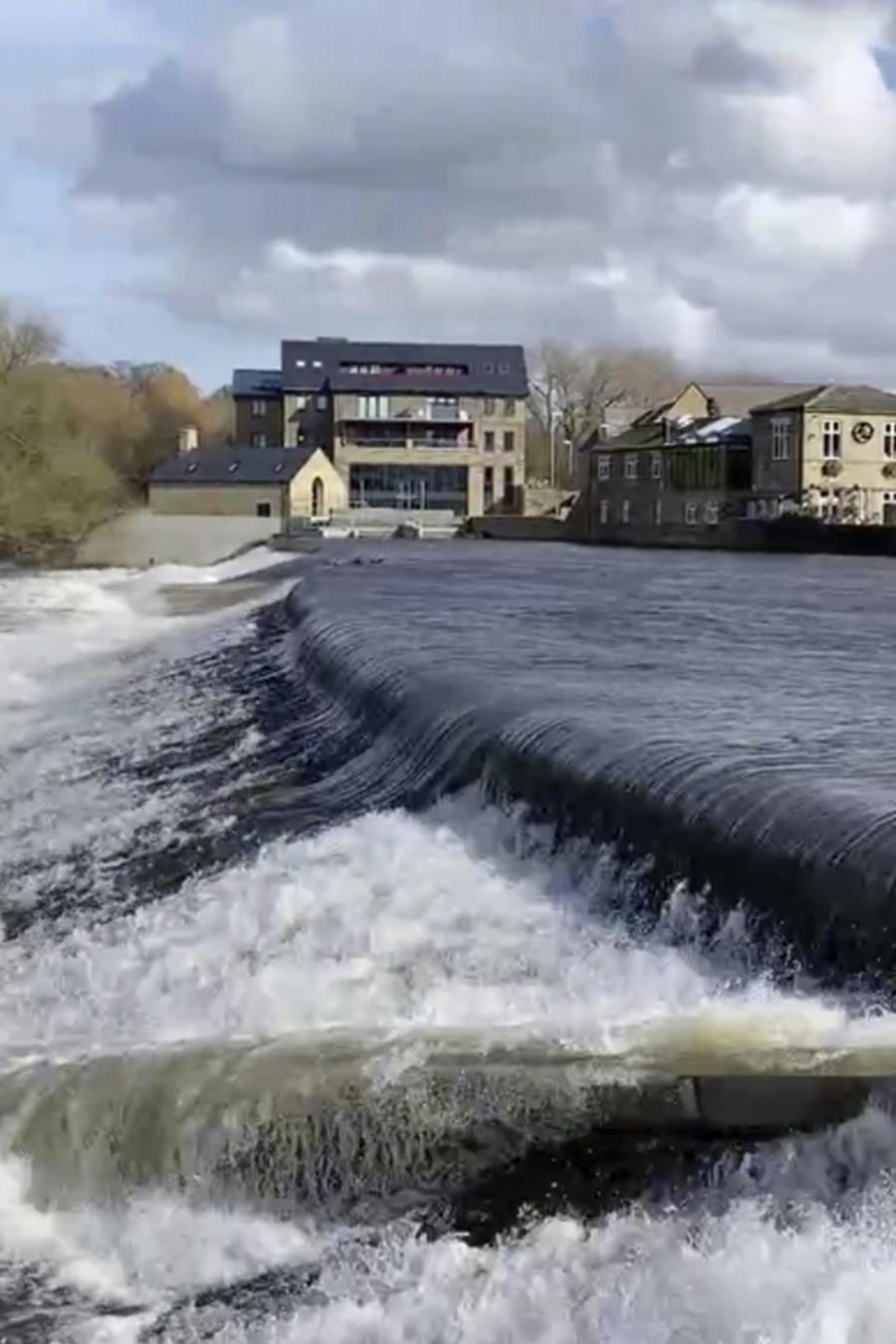 Tramo de río peligroso