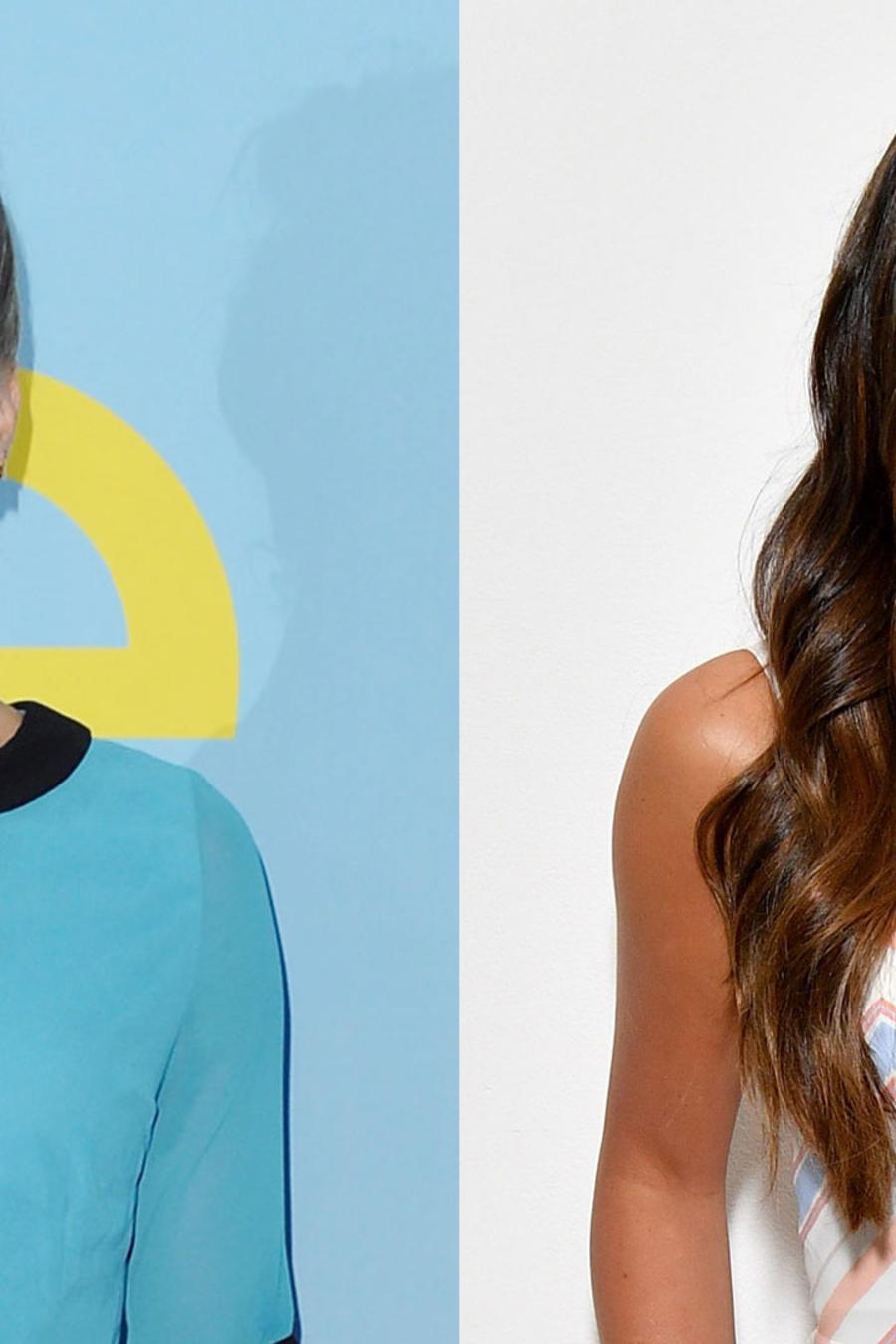 Heather Morris y Lea Michele