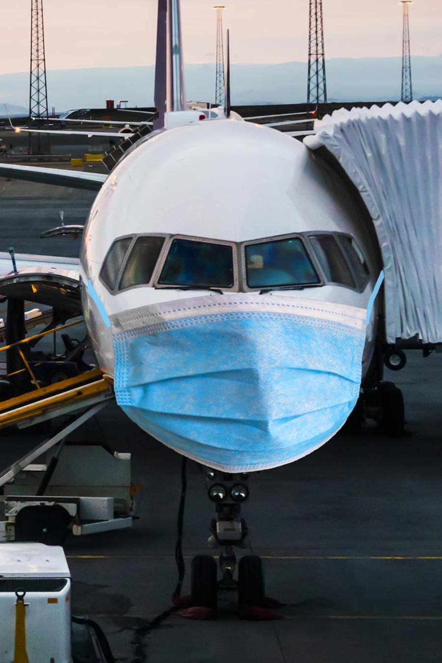 Consideraciones para viajar en avión durante la pandemia por COVID-19