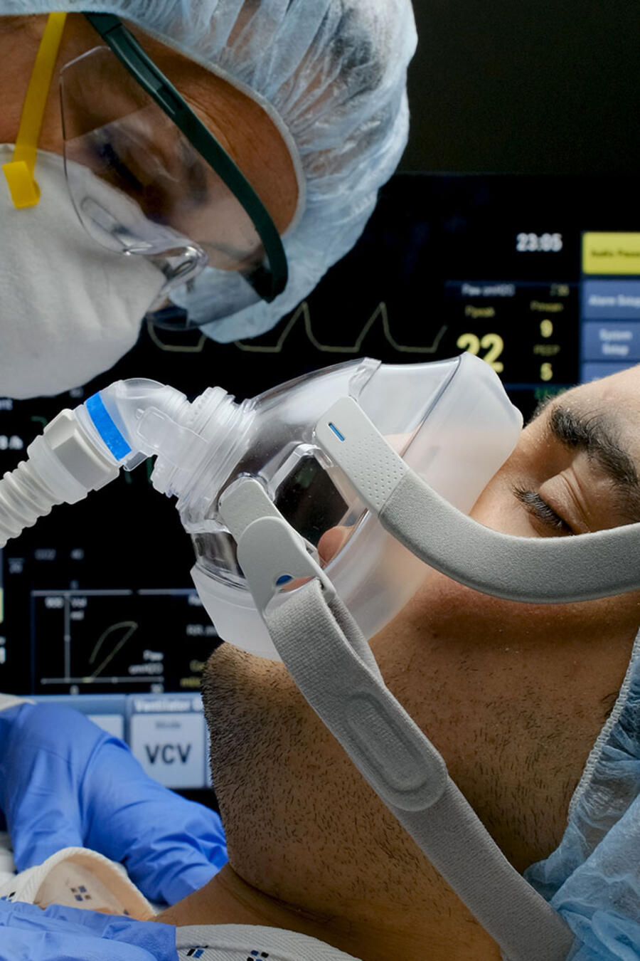 Paciente con coronavirus