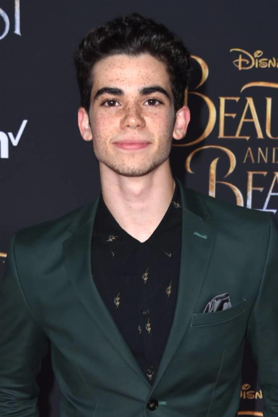 "Cameron Boyce, en el estreno de ""Beauty and the Beast"""