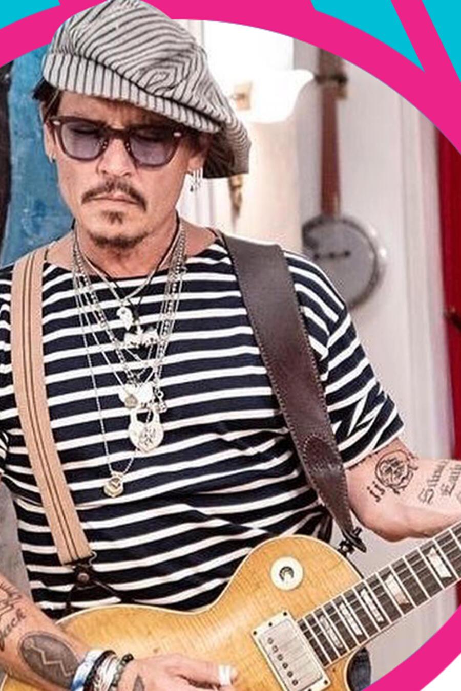 Johnny Depp helado foto