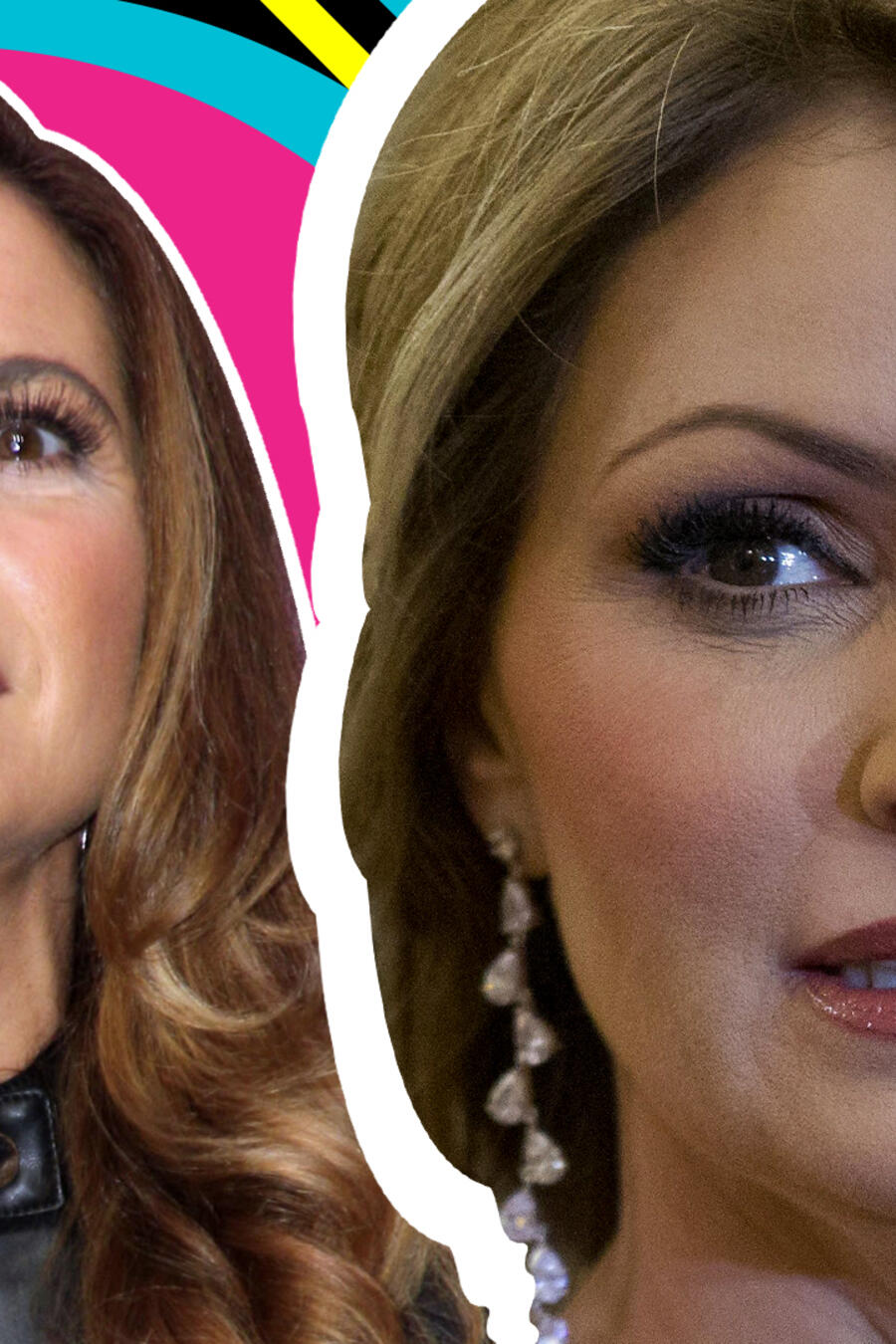 Angélica Rivera parecido Lucero