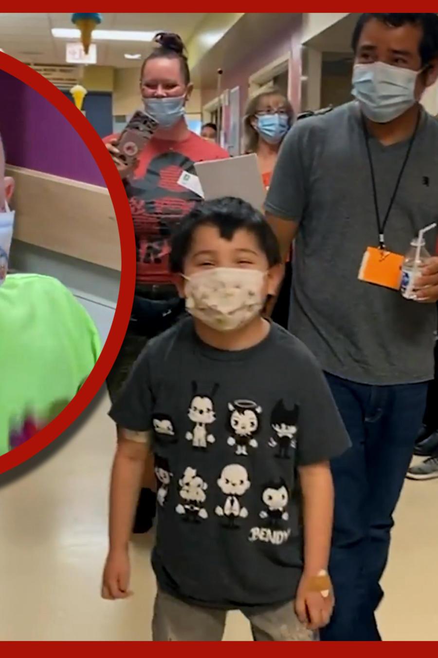 niños trasplante