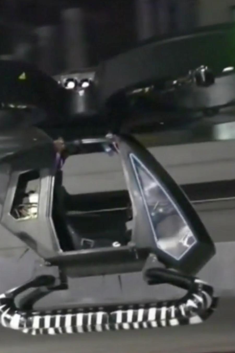 Primer auto volador