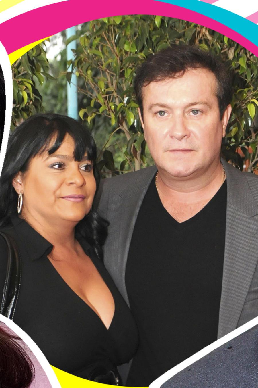 Sharis Cid y Arturo Peniche
