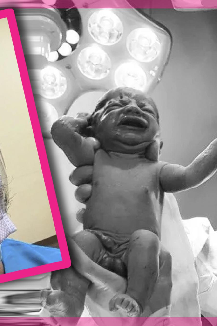 Bebé cubrebocas,