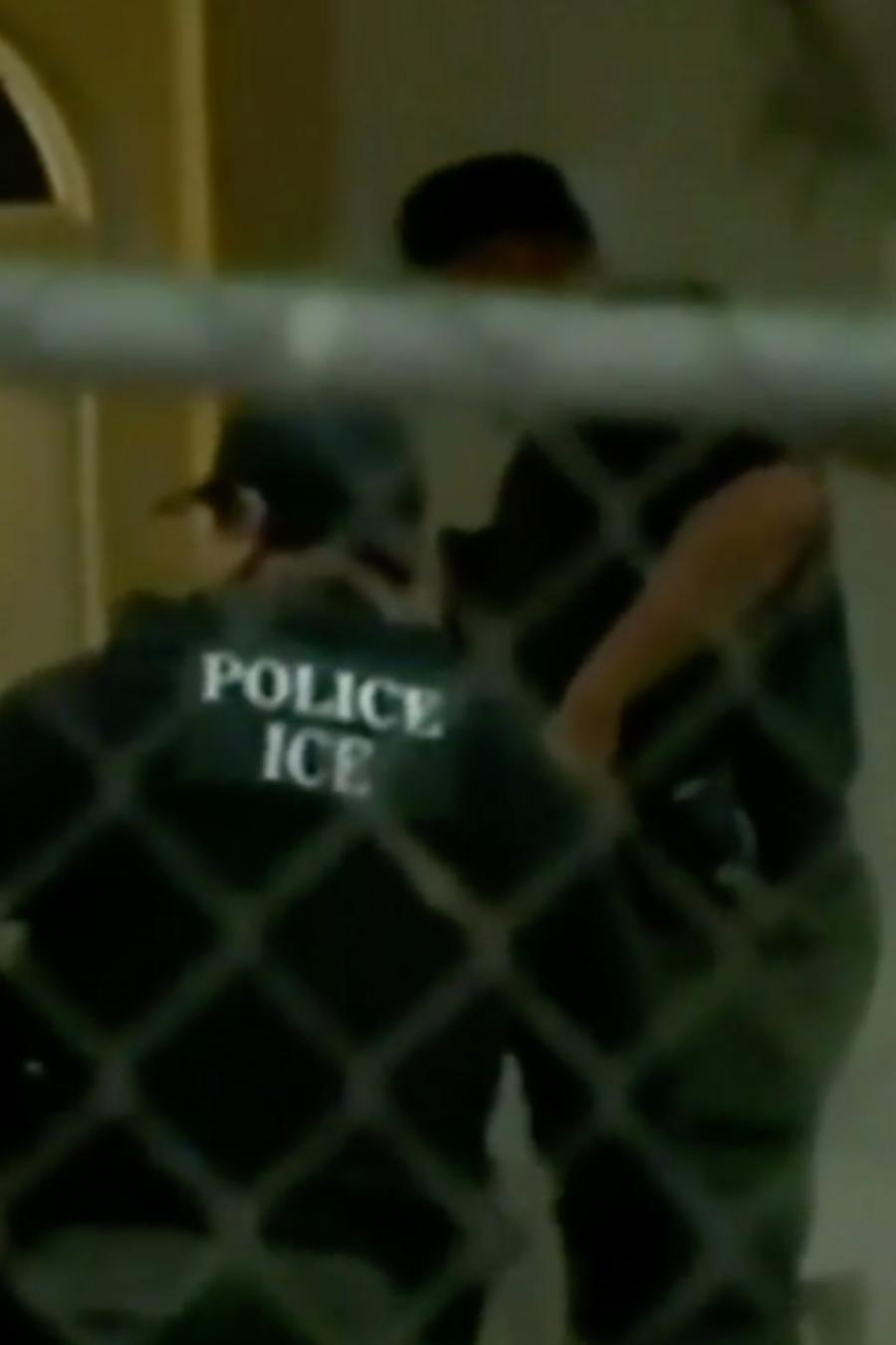 ICE arrestos