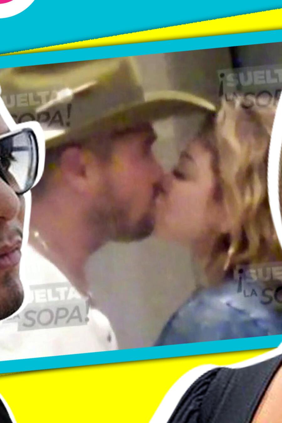 Lorenzo Méndez recacciona beso Chiquis Mr. Tempo