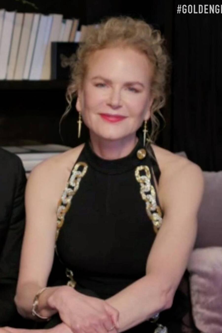 Nicole Kidman y Keith Urban en los Golden Globes 2021