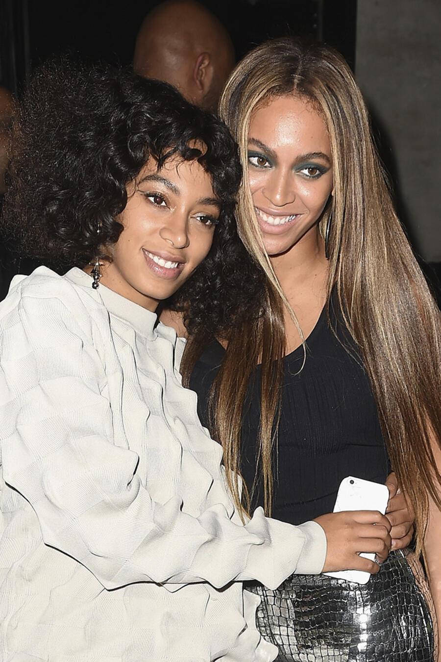 Beyoncé y su hermana Solange Knowles