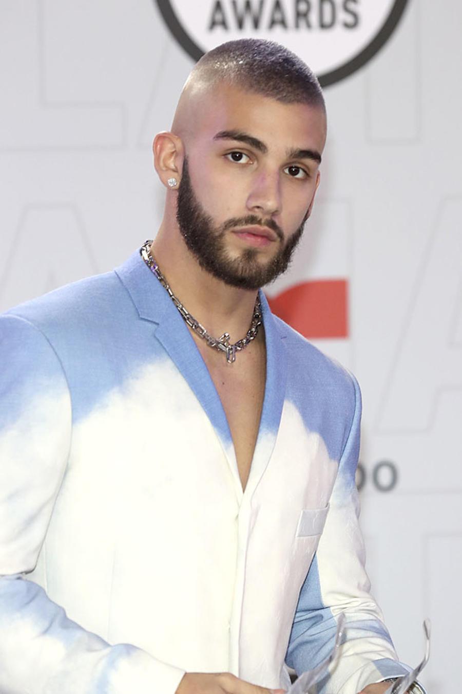 Manuel Turizo y El Alfa en los Latin Music Awards 2021