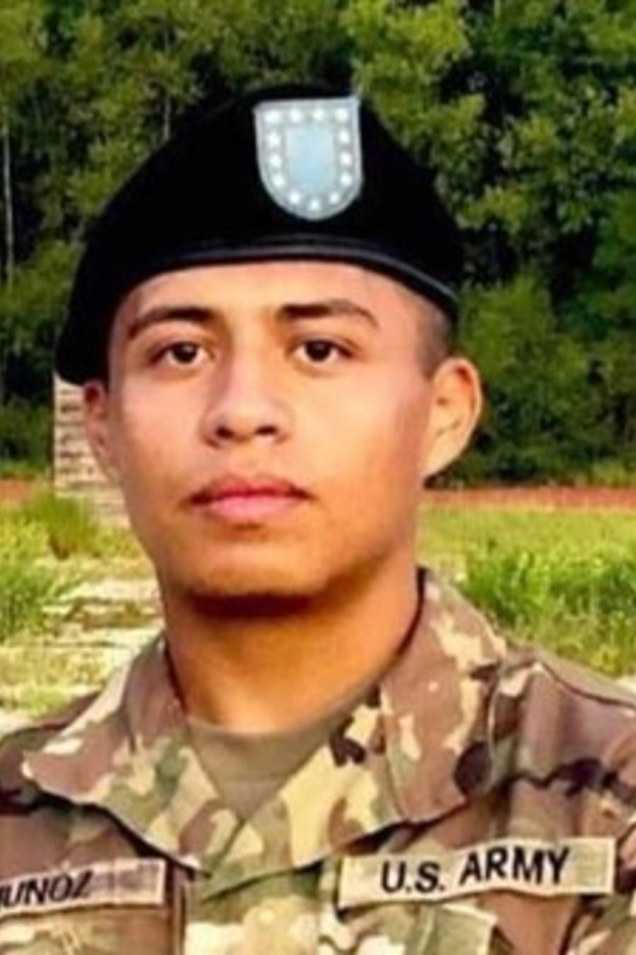 El cadaver del soldado Juan Muñoz fue identificado el fin de semana.