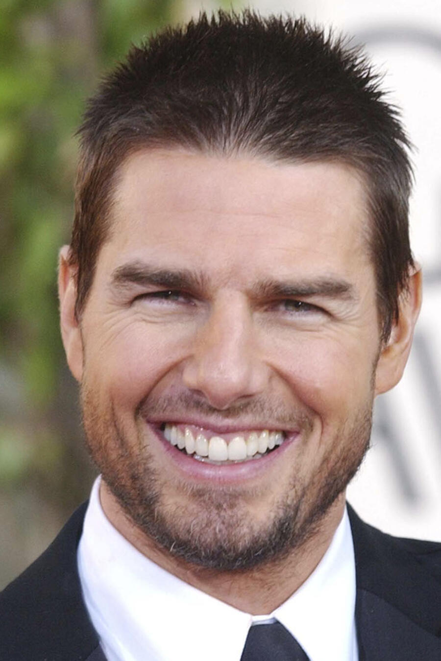 Tom Cruise en los Golden Globes.