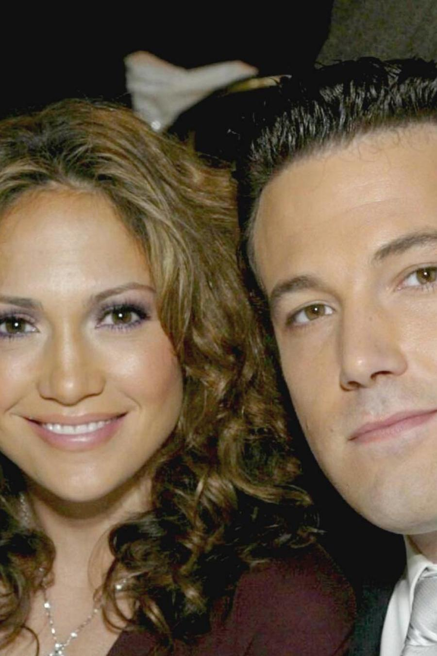 Jennifer Lopez y Ben Affleck en los The Spirit Of Liberty Awards 2003