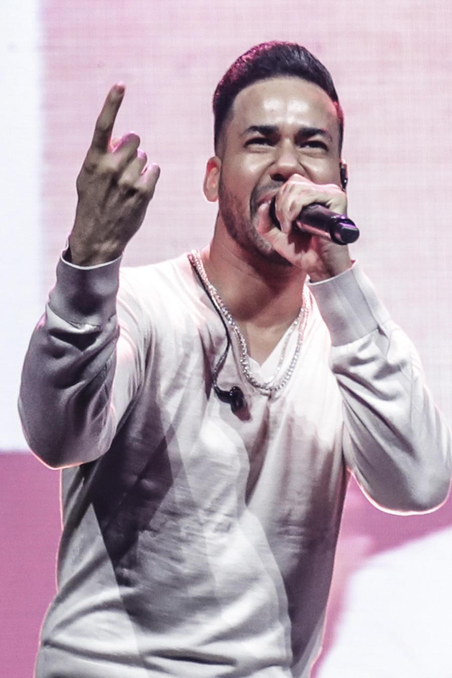Romeo Santos en concierto.