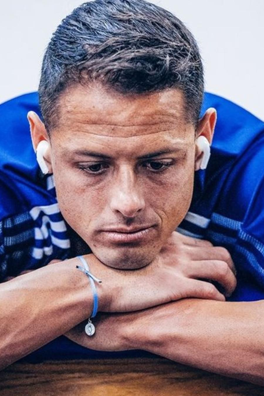 Javier 'Chicharito' Hernández triste