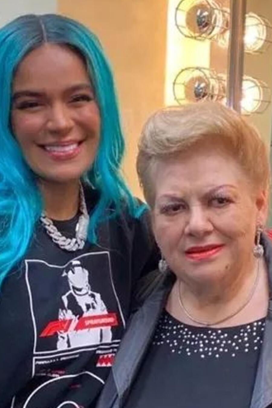 Paquita la del Barrio, Karol G, Daddy Yankee en los Premios Billboard 2021